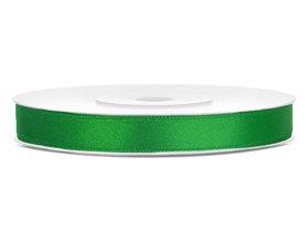 Satijn lint 6 mm groen