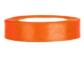Satijn lint 1 cm Oranje