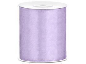 Satijn lint 100 mm Lavendel