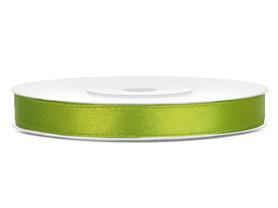 Satijn lint 6 mm Lime Groen