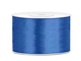 Satijn lint 38 mm Blauw