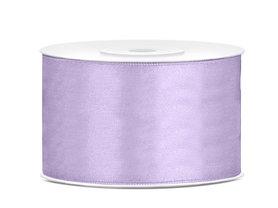 Satijn lint 38 mm Lavendel