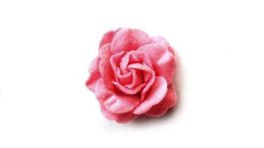Vilt roos donker roze