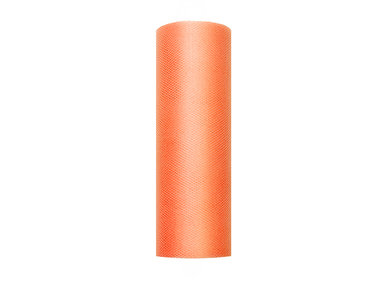 15 cm tule lint oranje