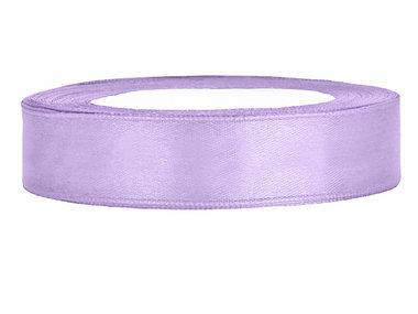 Satijn lint 1 cm Lavendel