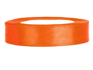 Satijn lint 2 cm breed Oranje