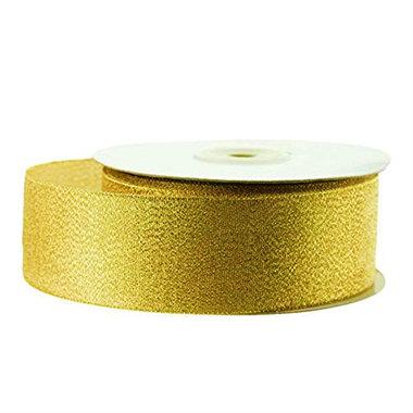 Lint Goud Metallic 2.5 cm