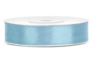 Dubbelzijdig satijn lint 12 mm Licht blauw