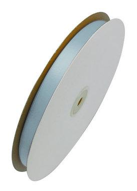 Satijn lint 6 mm breed licht blauw