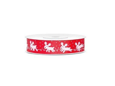 Kerstlint Rudolph 15 mm breed