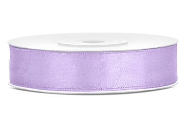 Satijn lint 12 mm Lavendel