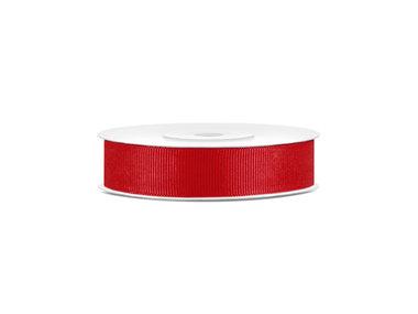 Grosgrain lint 15 mm rood