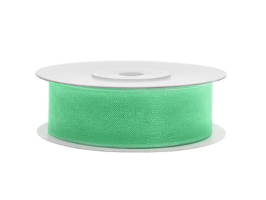 Mint organza lint 2 cm breed