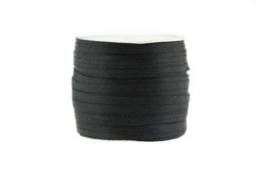 10 meter Satijn lint 3 mm Zwart