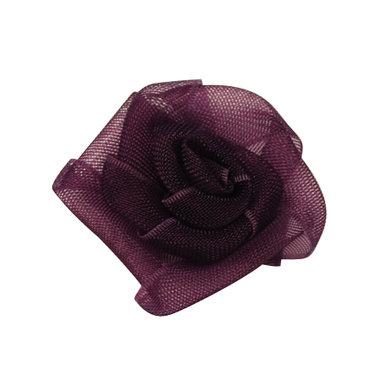 Organza bloemetje paars