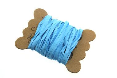 Raffia licht blauw