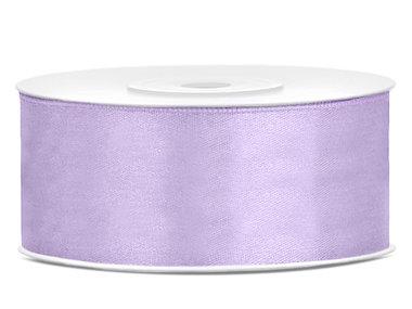 Satijn lint 2.5 cm breed lavendel