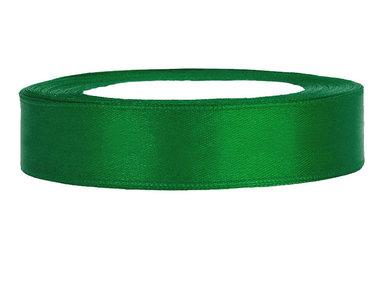 Satijn lint 1.5 cm breed groen