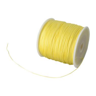 Nylonkoord 1 mm geel