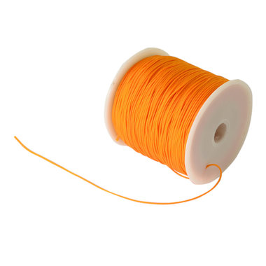 Nylonkoord 1 mm oranje