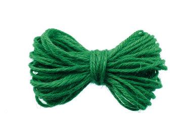 10 meter Hennep touw flessen groen