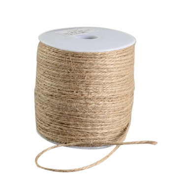 100 meter Hennep touw naturel 2 mm dikte