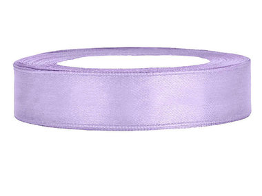 satijn lint 1.5 cm breed lavendel