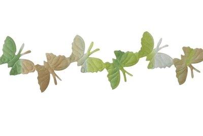Vlinder lint groen