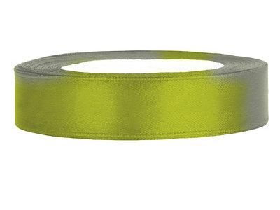 Satijn lint 2 cm breed Lime groen