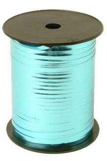 Krullint 5 mm metallic Aqua