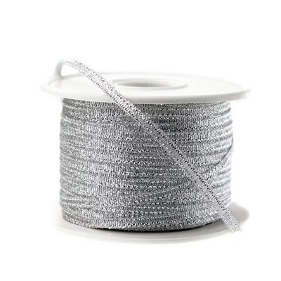 Lint Zilver Metallic 3 mm