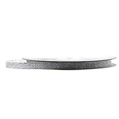 Lint Zilver Metallic 1 cm
