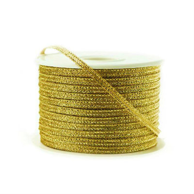 Lint Goud Metallic 3 mm