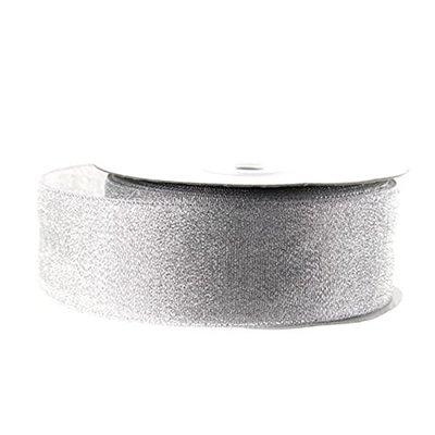 Lint Zilver Metallic 2.5 cm