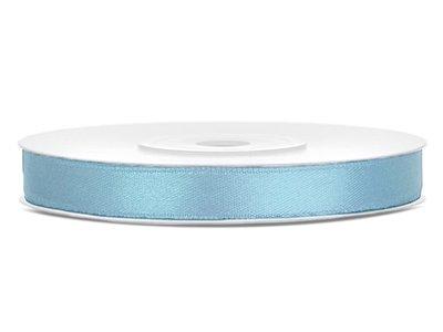 Satijn lint 6 mm Licht blauw