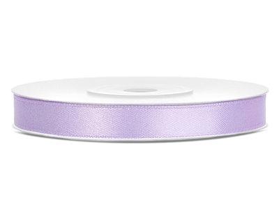 Satijn lint 6 mm Lavendel