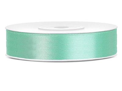 Satijn lint 12 mm mint