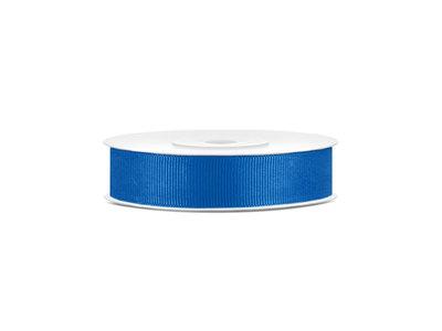 Grosgrain lint 15 mm blauw