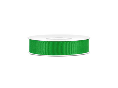 Grosgrain lint 15 mm groen