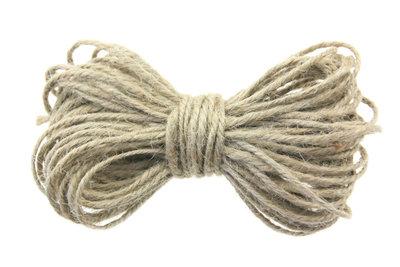 10 meter Hennep touw naturel