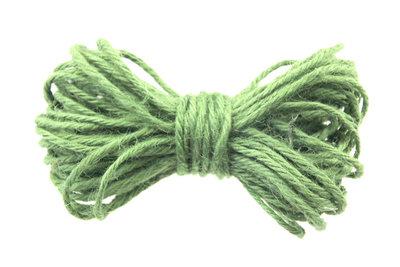 10 meter Hennep touw groen