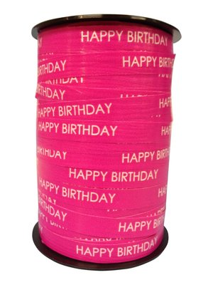 Krullint happy birthday fuchsia