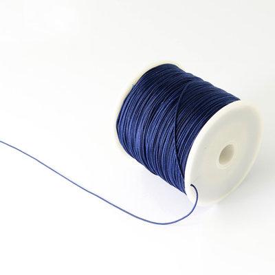 Nylonkoord 1 mm donker blauw