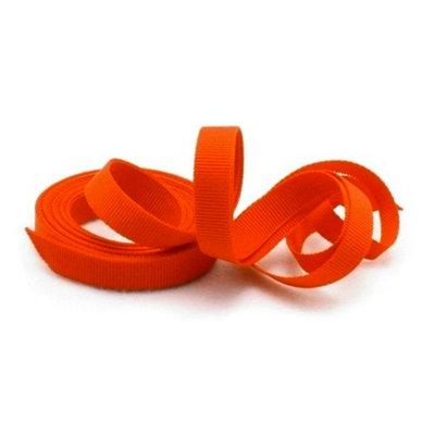 Grosgrain lint 1 cm oranje 22.8 meter