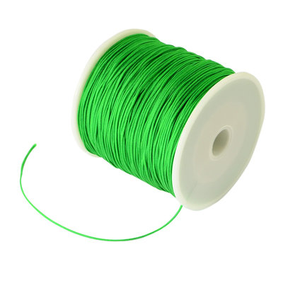 Nylonkoord 1 mm groen