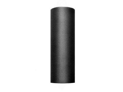 15 cm tule lint zwart