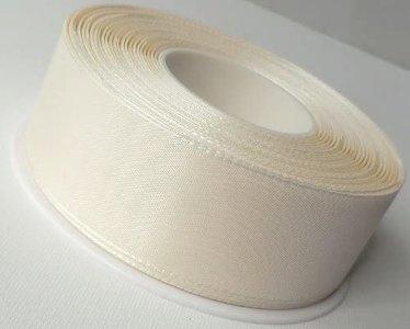 7.5 meter taft lint ivoor 1.5 cm breed