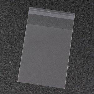 Cellofaan zakjes frosted 8 x 13 cm 10 stuks