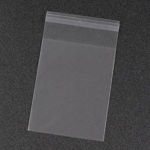 Cellofaan zakjes frosted 10 x 13 cm 10 stuks