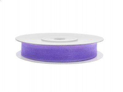 Organza lint 6 mm breed lila